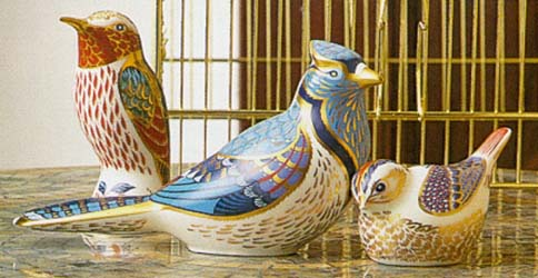 Bird Paperweights