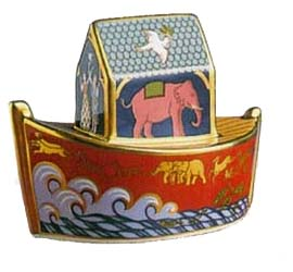 Miniature Giftware Noah's Ark